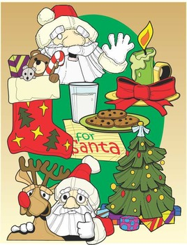 Christmas Activity Clip Art Fun Pack