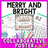Christmas - Holiday Collaborative Poster!  Merry and Bright for Christmas season