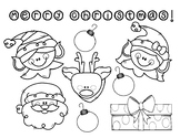 Christmas / Holiday Coloring Sheet! - FREEBIE!!