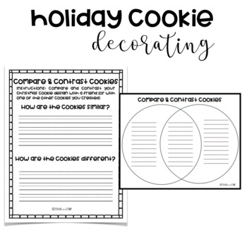 Christmas/Holiday Cookie Decorating Activity