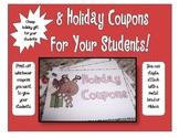 Christmas-Holiday Coupons for Your Students