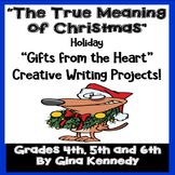 Christmas Holiday Creative Writing Projects for Upper Elem