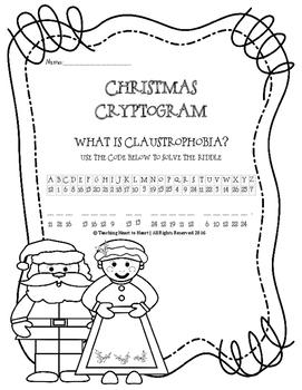 Christmas Holiday Cryptogram
