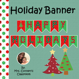 Christmas Holiday Decorative Banner Style 1