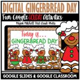 Christmas Holiday Digital Gingerbread Day Activities | Dis