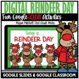 Christmas Holiday Digital Reindeer Day Activities | Distan