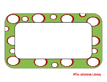 Christmas / Holiday Dots Backgrounds and Frames