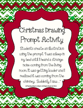 Christmas Holiday Drawing Promt