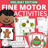 Christmas & Holiday Fine Motor Activities for Preschool & PreK