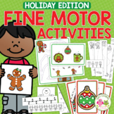Christmas & Holiday Fine Motor Activities for Preschool & PreK
