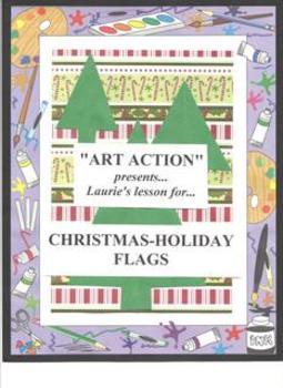 Christmas Holiday Flag
