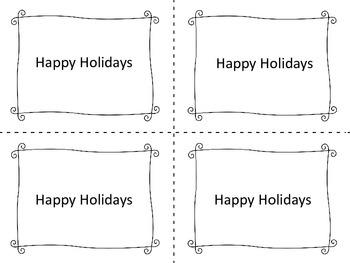 Christmas (Holiday) Gift Passes