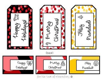 Christmas/Holiday Gift Tags