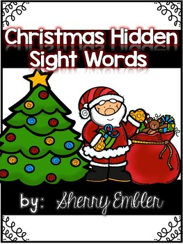 Christmas/Holiday Hidden Sight Words