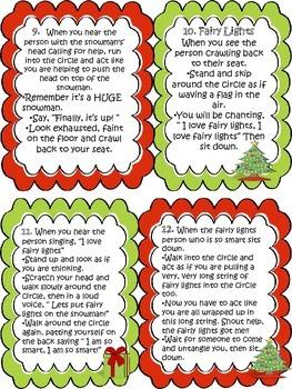 Christmas Holiday IB PYP Drama Circles Literacy Activity