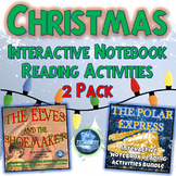 Christmas Holiday Interactive Notebook Reading 2 Pack