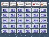 Christmas Holiday Jeopardy