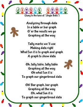 Christmas Holiday Jingle Graph Song Activity (Data Analysis and Graphing)