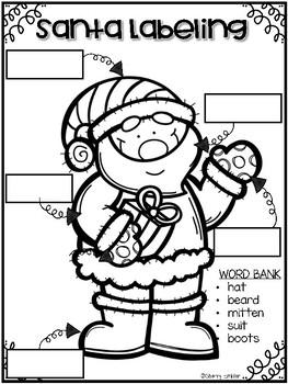 Christmas/Holiday Labeling Set