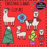 Christmas Holiday Llamas