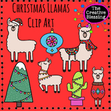 Christmas Holiday Llamas
