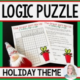 Christmas Logic Puzzle Activity By Lindsay Perro Tpt