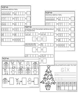 Christmas Holiday Math Bundle