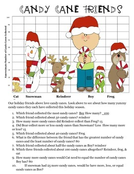 Christmas Holiday Math Graphing and More
