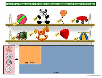 Christmas Holiday Math Pack - A First Grade SmartBoard Activity