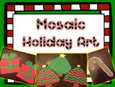 Christmas Mosaic Craftivity