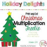 FREE Christmas Multiplication Activities