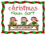 Christmas Holiday Noun Sort