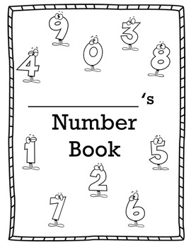 Christmas Holiday Number Book 1-10