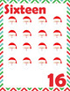 Christmas Holiday Number Set