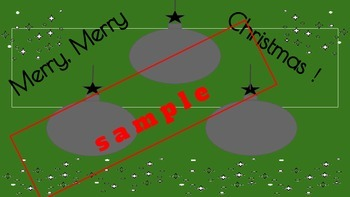 Christmas Holiday Ornaments Template for Scribble Art/ Patterns. EZ Mess Free