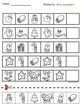 Christmas Holiday Patterns