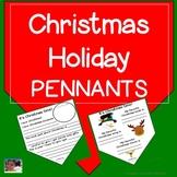 Christmas Holiday Pennants