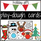 Christmas Holiday Play-dough Card Printable