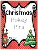 Christmas Holiday Pokey Pins