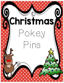 Christmas Holiday Pokey Pins