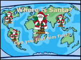 Christmas Holiday PowerPoint Game - Find Santa