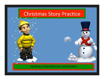 Christmas Holiday Close Reading Stories with Key