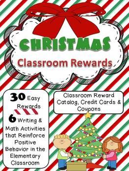 Christmas - Holiday Reward Catalog Classroom Management