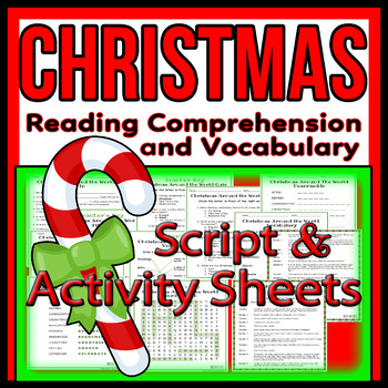 Christmas Readers Theater Script, Reading & Activity Packet