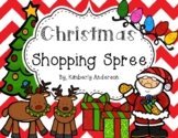 Christmas Holiday Shopping Spree: Differentiated Money Practice Activity