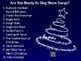 Christmas Sing Along Favorites PowerPoint with Music