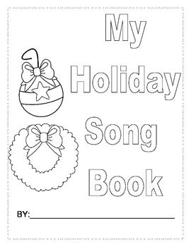 Christmas Holiday Song Book