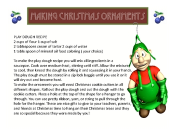"Christmas Holiday Story ""Christmas Ornaments"" Close Reading"