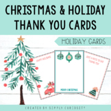 Christmas & Holiday Thank You Cards