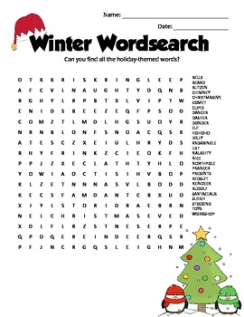 Christmas Brain Teasers Pdf.Christmas Holiday Themed Brain Teasers Enrichment Puzzles